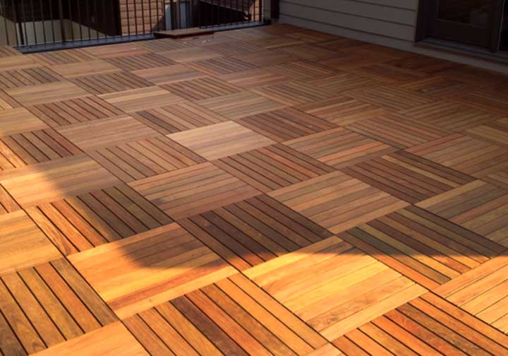 Ipe Deck Tiles Specialty Lumber Solutions